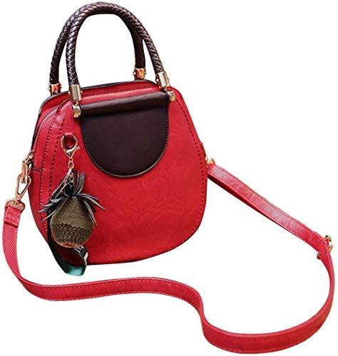 Bolsos Mujeres bolsas de mano, bolso de imitación de cuero del hombro, Ligera bolsa de asas Señora elegante bolsos de Obra de la Escuela de Negocios de la universidad de viaje de Red Trabajo Fiesta