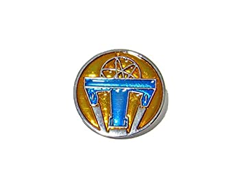 QueenGEEK Tomorrowland Small Atomic Movie Pin Badge Imagine A Place Where Nothing Is Impossible US SELLER