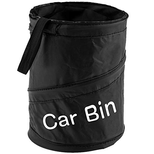 Zacro Car Bin - Foldable and Water Resistant Auto Trash Bag Camp for Garbage and Litter Storage and Collection