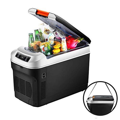 WQL Mini Nevera para automóvil, Caja de refrigeración termoeléctrica, camión y Toma de Corriente 12V y 220V, Autocaravana al Aire Libre, 25L-12L