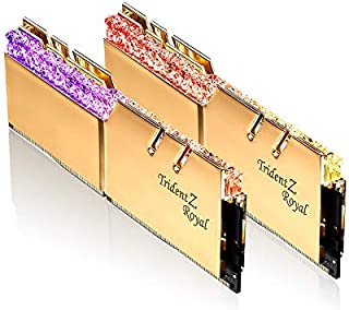 G.Skill DDR4メモリ TridentZ Royalシリーズ DDR4-5066 16GBKit(8GB×2枚組)国内正規品 特典ステッカー付き F4-5066C20D-16GTRG