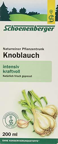 Schoenenberger Knoblauchsaft, 200 ml