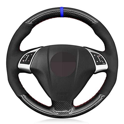 LKJsagd Cubierta del Volante del Coche, Apto para Fiat Grande Punto Bravo Linea 2007-2019 Qubo Doblo Opel Combo Vauxhall Combo 2012-2017