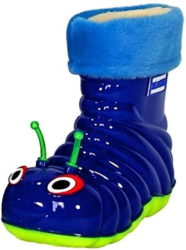 Beastie Shoes Waterproof Rain Boots for Little Kids Girls Boys and Toddlers - Fun Comfortab.