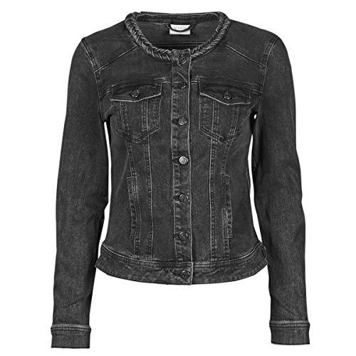Vila Visashi Jacken Damen Schwarz - DE 34 (EU 36) - Jeansjacken Outerwear