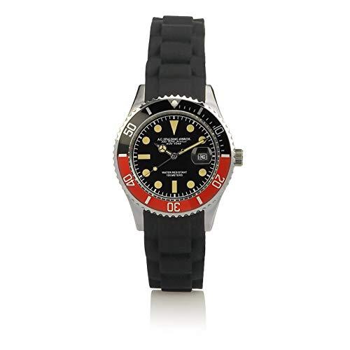 Orologio Clock Long Beach A.G. SPALDING & BROS Donna Woman Nero/Rosso Black/Red 174455F728