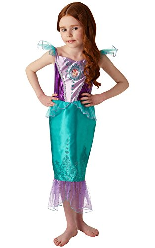 Rubies Official Disney Princess Ariel Disfraz de gema, Color verde, medium (640716M)