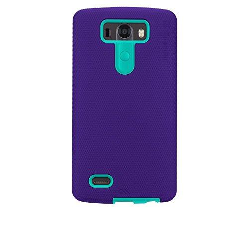 Case-Mate Tough Case for LG G3 - Retail Packaging - Violet Purple/Pool Blue