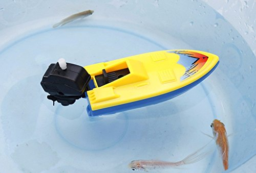Redcolourful Simulieren Sie aufblasbare Uhrwerk-Boots-Schiffs-Kinder, die Badespielzeug für Badezimmer-Strand-Pool Schwimmen