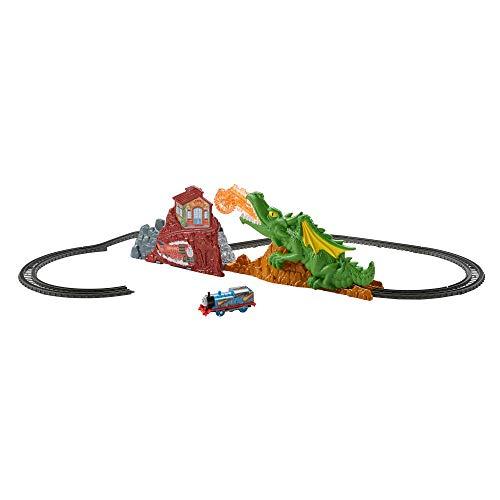 Thomas & Friends Il Trenino Thomas, Fuga dal Dragone, Playset con Trenino Thomas Motorizzato e Pista, Giocattolo per Bambini da 3 + anni, FXX66