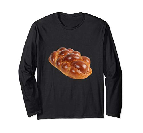 Challah Brot Schabbat Jüdisches Weihnachtsessen Langarmshirt