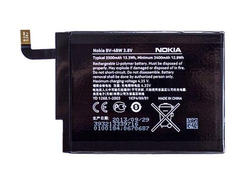 bv-4bw originale Nokia Lumia 1520, Lumia 13203400mAh Li-Ion