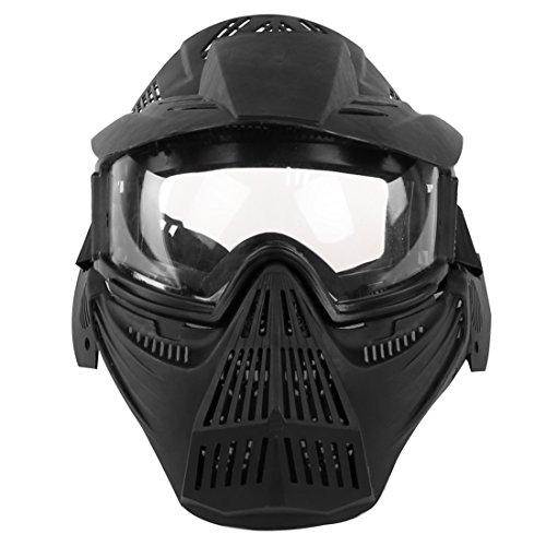 YAHAMA Taktische Maske Kinder Schutz Maske für Kinder Taktische Schutzmaske mit Schutzbrille Gesichtsmaske für Nerf/Airsoft/Paintball/CS