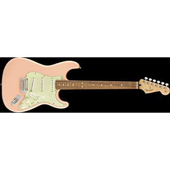 Fender Player Stratocaster PF Shell Pink w/3-Ply Mint Pickguard (CME Exclusive)