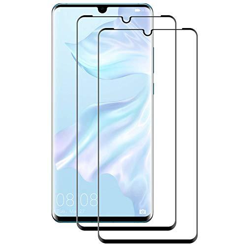 Aspiree - 2 protectores de pantalla de cristal templado compatibles con Huawei...