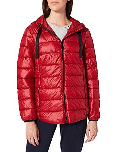 ESPRIT Damen 071EE1G320 Jacke, 610/DARK RED, S