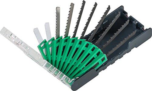kwb PowerBox Decoupeerzaagbladenset voor houtsnijden in metaal en metaal; 10-delig