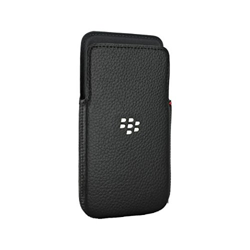 Blackberry ACC-57196-001 Leather Pocket Case für Z30 schwarz