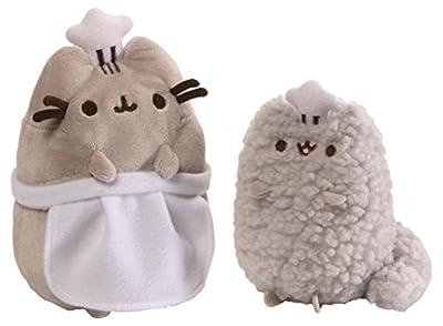 GUND Pusheen and Stormy Birthday Stuffed Animal