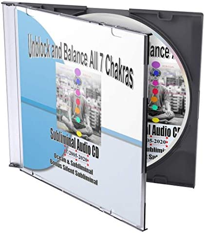 Unblock and Balance All 7 Chakras Subliminal Self Help to Help Open Your Third Eye Using Self product image