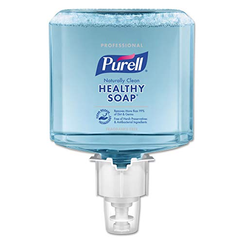 PURELL 647002 Professional CRT HEALTHY SOAP Naturally Clean Fragrance-Free Foam ES6 Refill