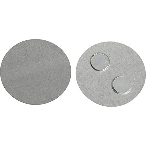 Blaupunkt ISD-MB1 Platte Rauchmelder SD1 für Mini Hitzemelder HD1, Kein bohren, keine Löcher, Inkl. Installationsaufkleber, Durchmesser 39 mm, Montage nur 1 min