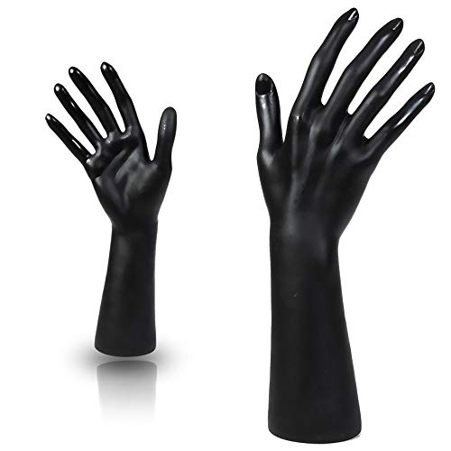 Pacific Female Mannequin Hand Display Black Color