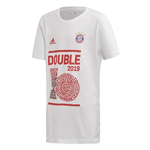 Adidas Bayern München Double Shirt 2019 voor kinderen, wit