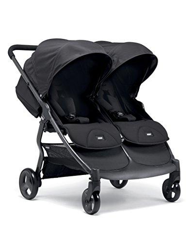 Mamas & Papas Armadillo Twin Pushchair - Black Jack
