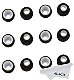 ALXCD Ear Tip for Jay Bird X2 X Earphone, Small Size 6 Pair Soft Silicone Replacement Earbud Tips, Fit for Jay Bird X2 X (Not for X3) Bluetooth Earphone [S-6 Pair]