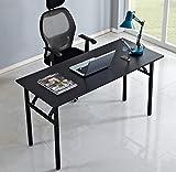 DlandHome Mesa Plegable Mesa de Ordenador 120x40cm Escritorio de...