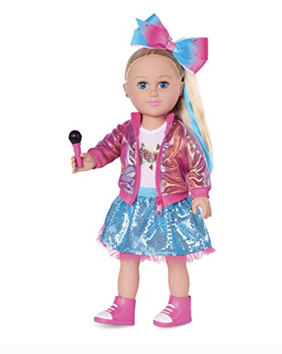 myLife Brand Products My Life As JoJo Siwa Doll, 18-inch Soft Torso Doll with Blonde Hair, Dance Party 2019 Release