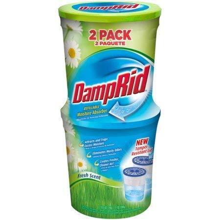 DampRid 2-Pack Refillable Moisture Absorber (Fresh Scent (Pack of 2))