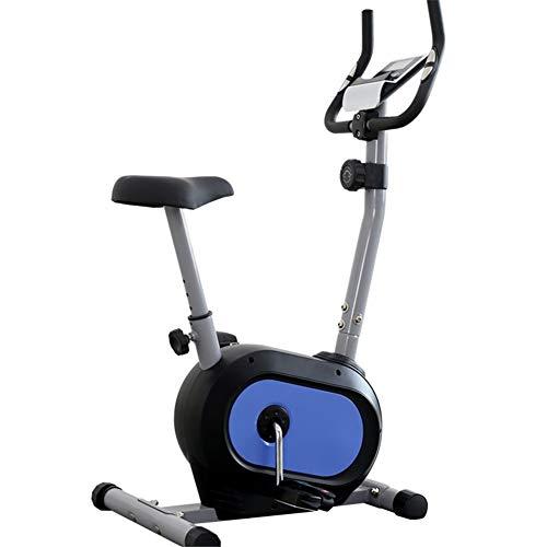 Lcyy-Bike Allenatori di Bicicletta Resistenza Magnetica 6 kg Volano Cardio Workout con Display Multifunzionale E Porta Tablet Altezza Regolabile