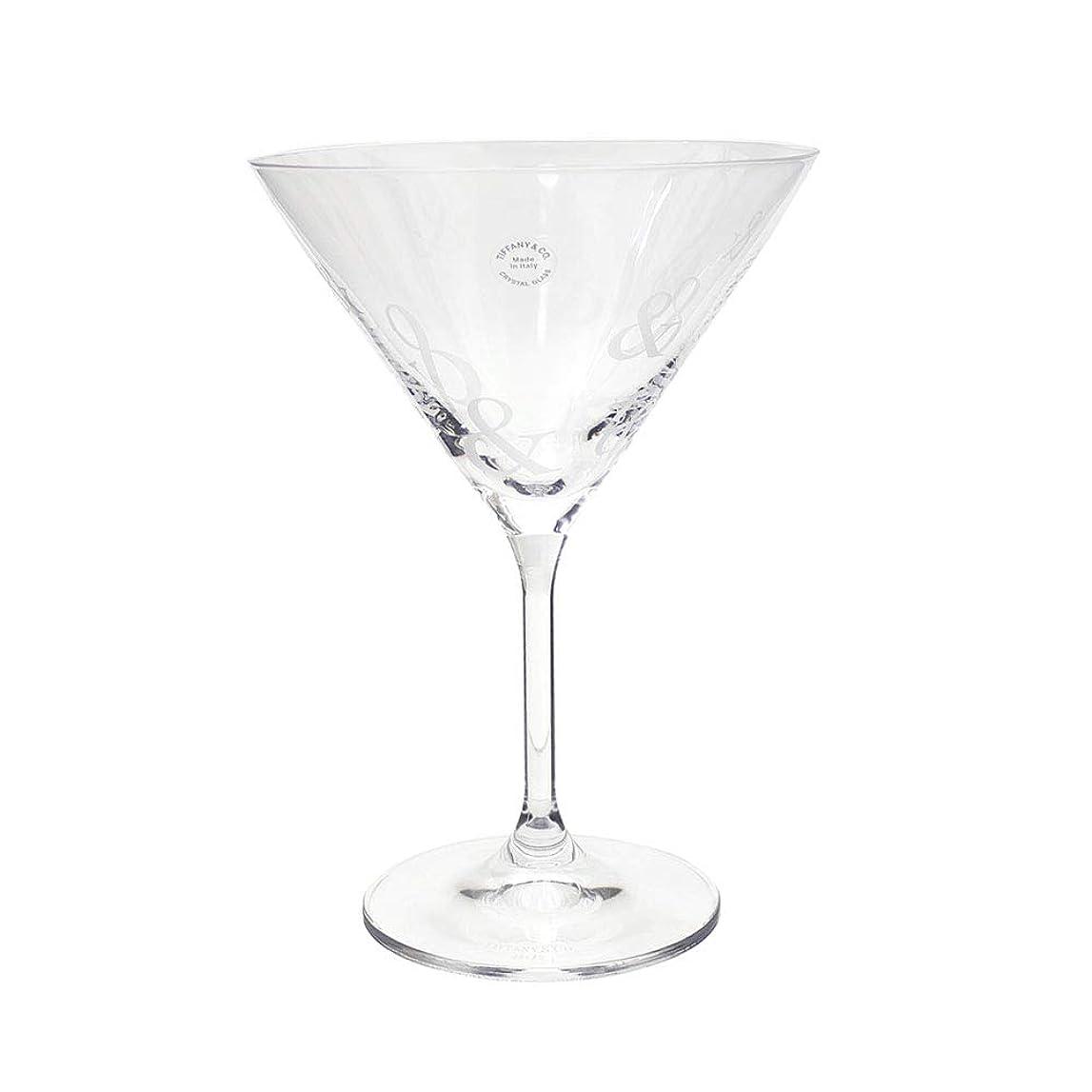 スピンどんなときも創始者新品 ティファニー TIFFANY&CO. クリスタル マティーニ グラス カクテルグラス CLEAR クリアー メンズ レディース 290004977010