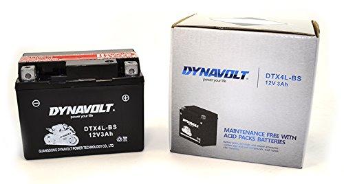 Dynavolt Batterie DTX4L-BS YTX4L-BS versiegelt wartungsfrei