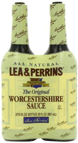 Lea & Perrins Original Worcestershire Sauce, 15 fl oz - Pack of 2