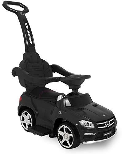 Mercedes GL63 Correpasillo para Niños Mayores de 1 Año Cochecito Automóvil, Negro