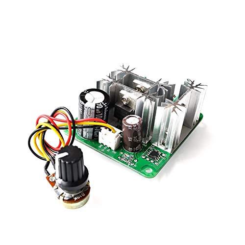 ZJF Componentes de la computadora Accesorios eléctrico DC 6V-90V 15A DC Controlador de Velocidad de Motor Ancho de Pulso de regulación de Velocidad de Velocidad PWM DC 12V 24V 36V 48V 1000W