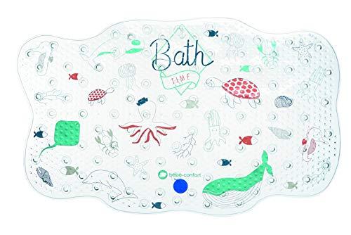 Bébé Confort Tapis de Bain Antidérapant pour Bébé/Enfant, tapis bébé pour la baignoire, Water World Bleu