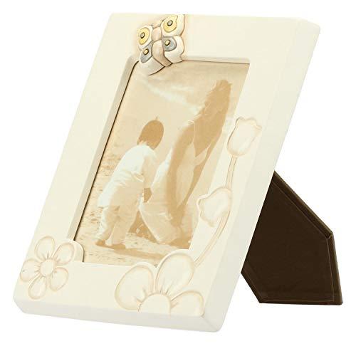 THUN - Portafoto, Accessori per la Casa - Linea Elegance - Ceramica - Formato Foto 12,5x17 cm
