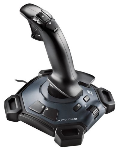 Logitech Attack 3 PC Joystick (New Packaging)