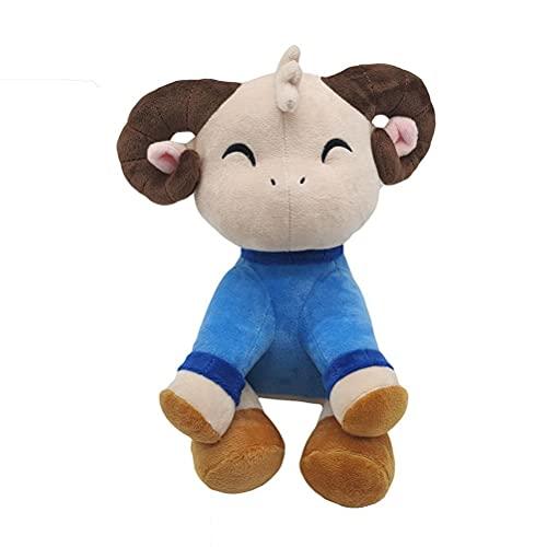 Cacowap Plyschleksaker, Jschlatt plysch bomull får tecknad anime plysch get docka mjuk kudde, den bästa gåvan för barn eller barn