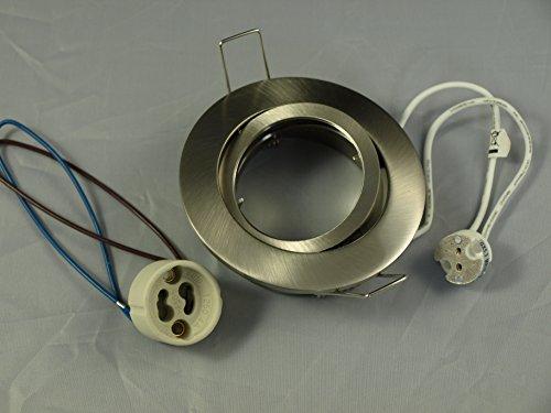 Aluminium Druckguss Einbaustrahler 4457-5 Eisen gebürstet von LC light