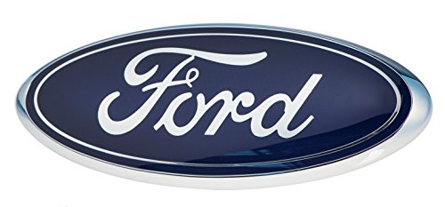 2005-2007 Ford F250 F350 Super Duty Front Grille Blue Ford 9 Inch Emblem OEM NEW