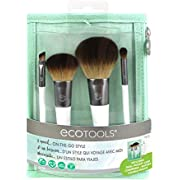 EcoTools, Brush Set On The Go, 4 Count