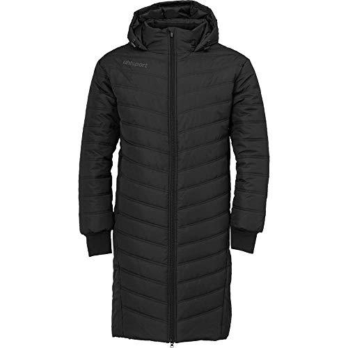 uhlsport Herren Essential Winter Bench Jacke Softshelljacke, schwarz/Anthra, M