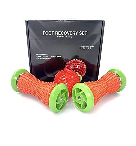 ChiFit Foot Roller Massage Ball, Reflexology Foot Massager Tool,...