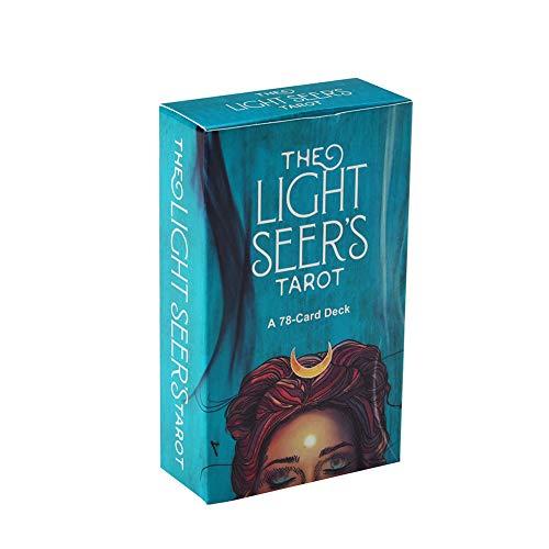 el Tarot del Vidente de la Luz Una guía para Adultos/niños/Principiantes a la Herramienta de Juego de adivinación