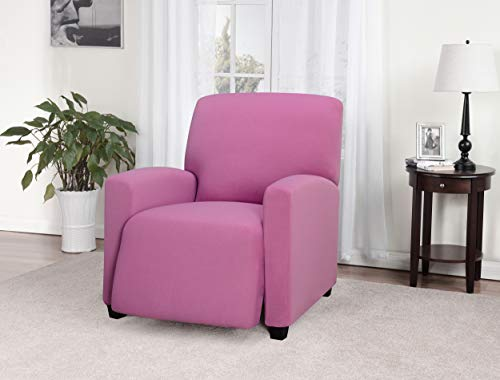 Madison Stretch Jersey Large Recliner Slipcover, Pink